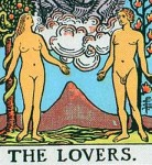 The Lovers - Tarot Card