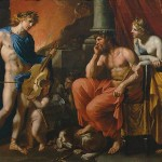 Orpheus before Pluto and Persephone