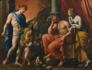 Orpheus before Pluto and Persephone - Image via Wikimedia Commons, public domain