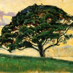 Paul Signac: The Pine, Saint Tropez, 1892-1893