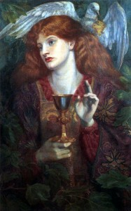 """The Damsel of the Sanct Grael"" by Rossetti - Image via Wikimedia Commons"