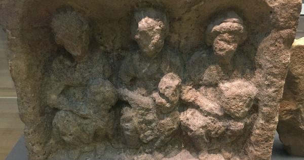 Three British Goddesses, British Museum, London.