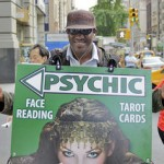 Psychic. Fifth Avenue, NYC. By Timothy Krause.Licensed under CC 2.0