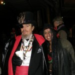 Dr. John and Lilith Dorsey at Krewe du Vieux. Photo by Lilith Dorsey.