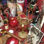 Altar for Chango Feast and Ritual, photo by Lilith Dorsey