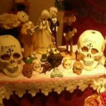 Muertos and skullz for the Mexican Day of the Dead- Tropenmuseum, Amsterdam. Photo by Lilith Dorsey.