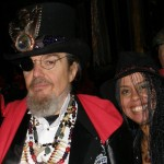 Dr. John and Lilith Dorsey at Krewe du Vieux 2010