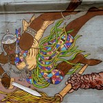 Ogun Mural located in Spanish Harlem, NYC. Photo by Lilith Dorsey.