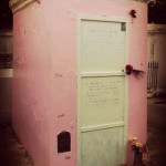Pink Marie Laveau's Tomb.Photo by Dorothy Morrison, copyright 2013. All rights reserved.