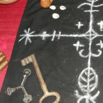 Detail from Legba Ritual Altar. Photo by Lilith Dorsey