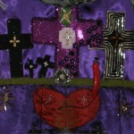 Detail Maman Brigitte flag by Leticia, photo by Lilith Dorsey