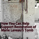 Support the Restoration of Voodoo Queen Marie Laveau's Tomb photo by Lilith Dorsey.