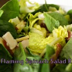 Santeria Recipe: Oya Flaming Spinach Salad