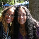 Lilith Dorsey and Bernadette Montana at NY Pagan Pride 2013.
