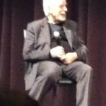 Alejandro Jodorowsky discussing the Dance of Reality photo by Lilith Dorsey. Copyright 2014.