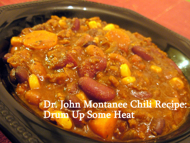 Chili ! photo by John. Text added. Licensed under CC 2.0