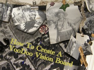 Voodoo Vision Board hanging photo by Lilith Dorsey. All rights reserved.
