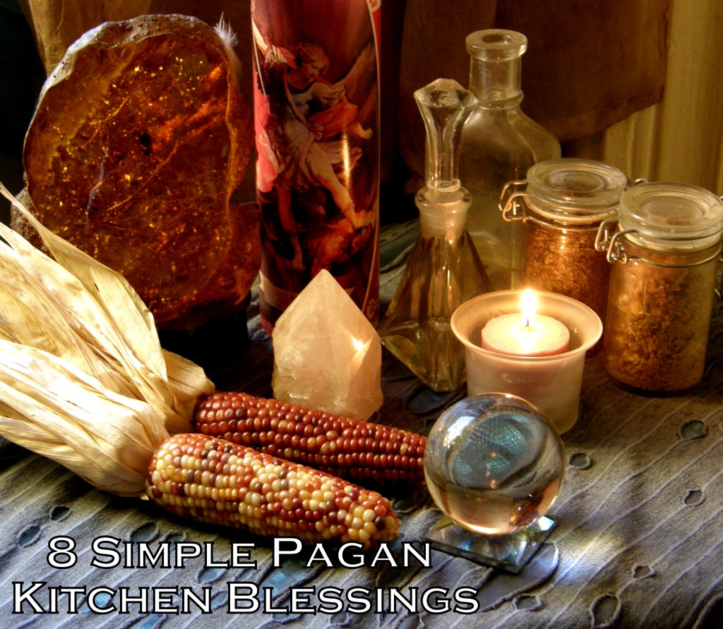 Pagan Kitchen Blessings photo by Lilith Dorsey