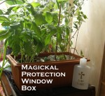Make A Magickal Protection Window Box