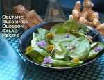 Beltane Blessings Blossom Salad Recipe