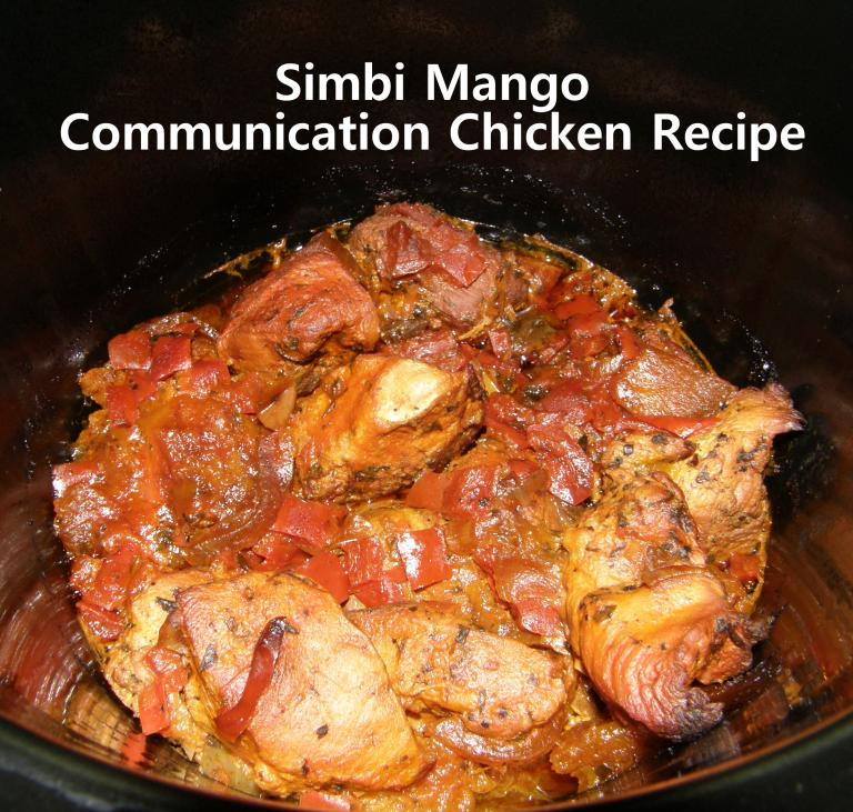 Communication Chicken Recipe for Simbi