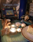 Yemaya altar photo by Lilith Dorsey. All rights reserved.