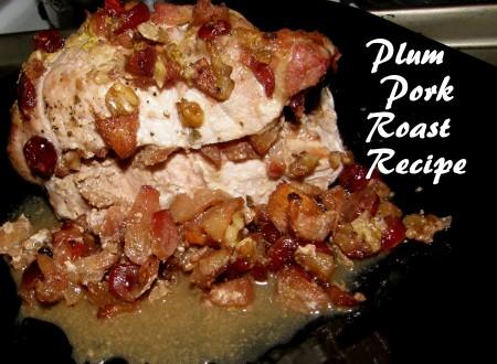 Plum Pork Roast Recipe For The Ancestors