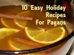10 Easy Holiday Recipes for Pagans. Photo by Lilith Dorsey. All rights reserved.
