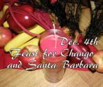 12/4 Feast For Chango and Santa Barbara