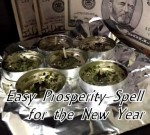 Easy prosperity spell photo by Lilith Dorsey. All rights reserved.
