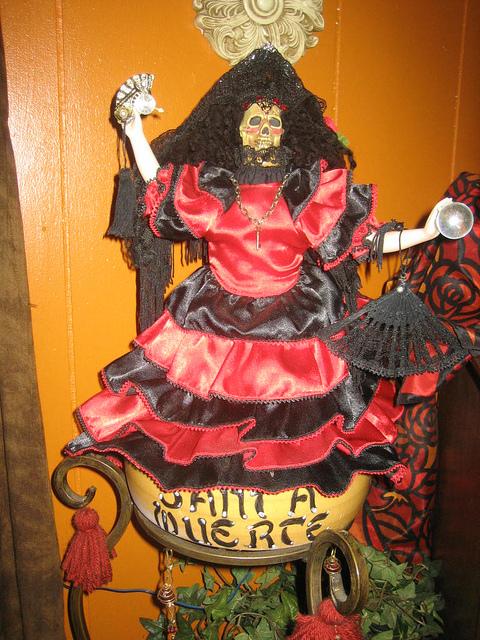 La Santa Muerte: Death's Goddess Rides Again   Lilith Dorsey