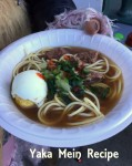 Yaka Mein Recipe – Magickal Hangover Cure From New Orleans