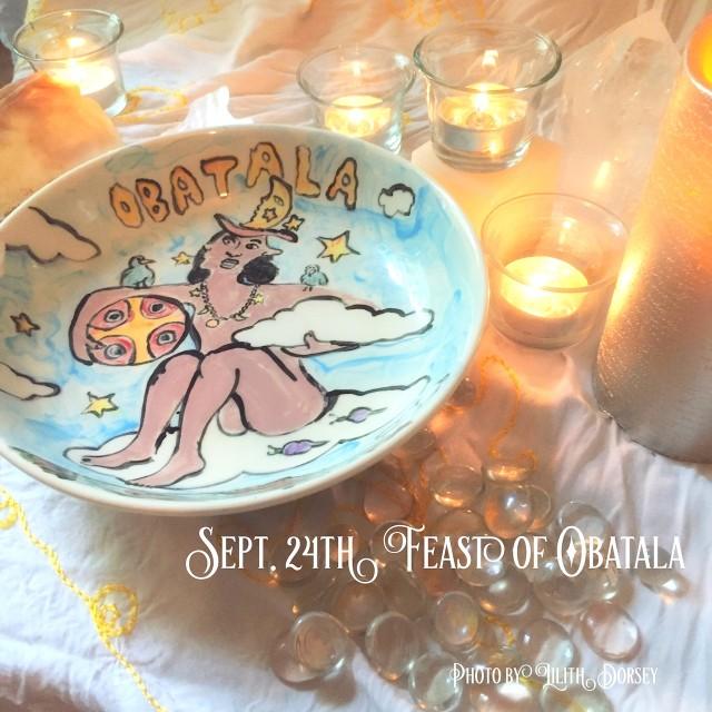 Feast Of Orisha Obatala - Sept. 24th