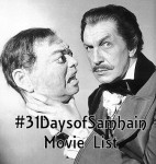 #31DaysofSamhain Movie List