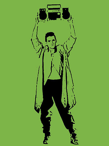 Lloyd Dobler image by Chris Weige. Licensed under CC 2.0