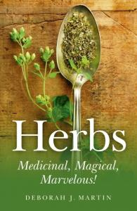 Herbs Medicinal, Magical, Marvelous ! cover photo provided by publisher. All rights reserved.
