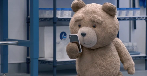 Yes, Even Foul-Mouthed Teddy Bears Can Speak to Grace