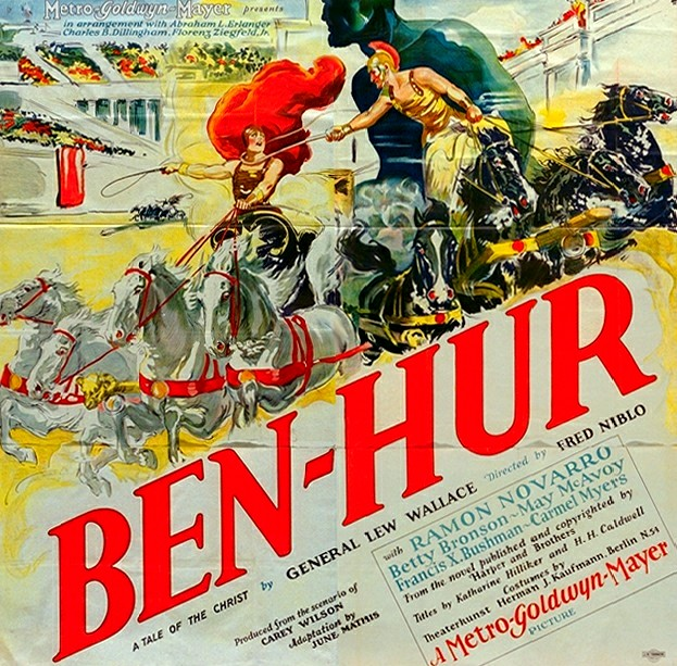 Ben Hur, 1925: When Christian Movies Were Just ... Movies