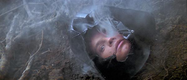 Mark Hamill in The Empire Strikes Back, courtesy 20th Century Fox