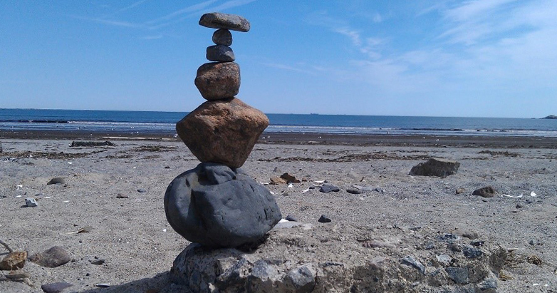 Stacked Rocks- Image by Kathleen Rouleau