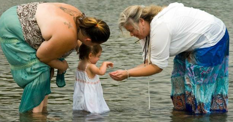 Water Blessing - Image by by Dana Burke