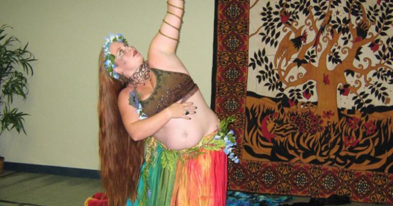 Annwyn Dancing as Gaia
