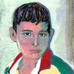 I paint my characters: The sweet Honduran boy named 'Paco' he knew no other way to make his point than to use bad words. What is a writer to do?