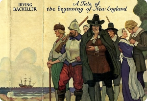 NC Wyeth Illustrates cover for Addison Irving Bacheller