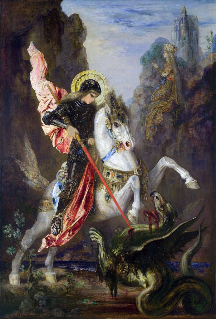Happy  St. George Day! And Who Is Saint George?