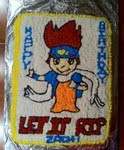 The Blader cake that my mother and I made for Zach's birthday.