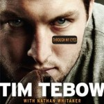Tebow's memoir, Though My Eyes, remains in the top 20 on the New York Times Best Sellers list.
