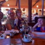 Bible Study at Cafe Brit, in Costa Rica