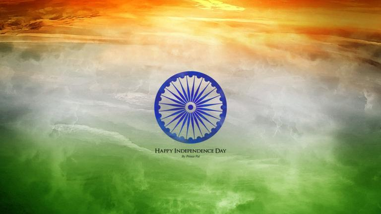 Happy independence day for India wallpaper 3d