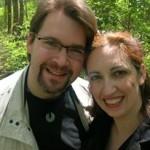 Ambaa and husband